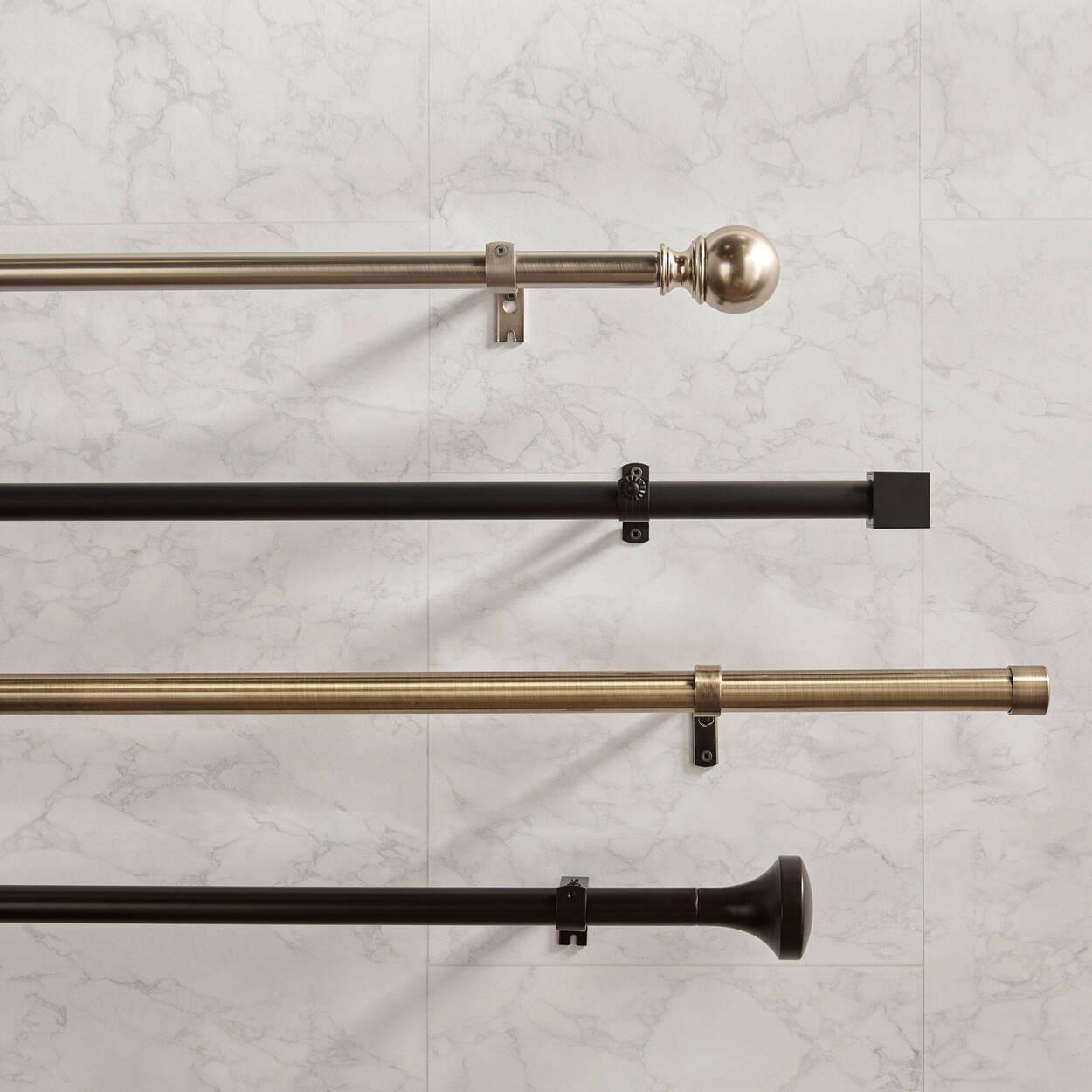 Curtain Rod Set - Diameter 16mm