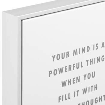 Your Mind Framed Typography Art