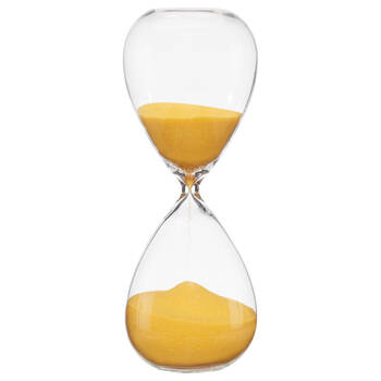 Decorative Hourglass with Coloured Sand