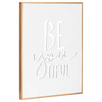 Be Youtiful Typography Canvas