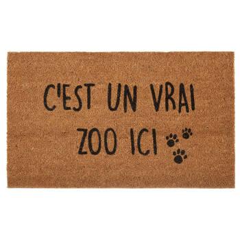 C'est un Zoo ici Doormat