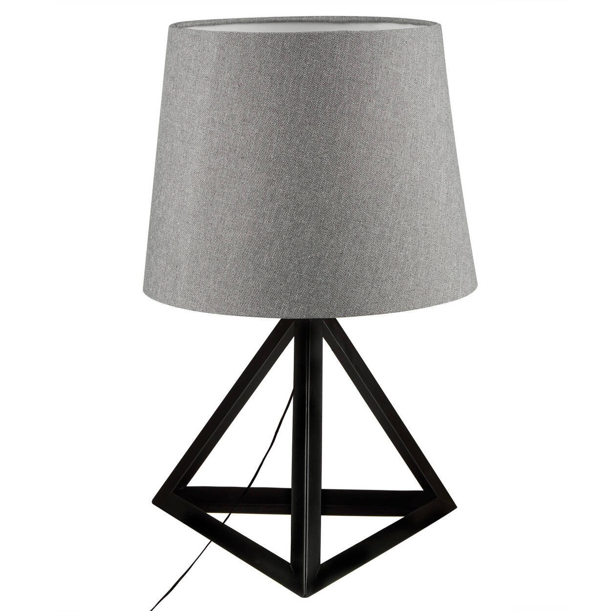 Triangular metal table lamp bouclair triangular metal table lamp mozeypictures Images