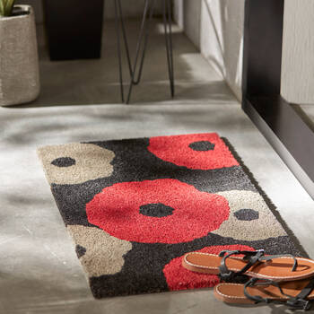 Floral Doormat