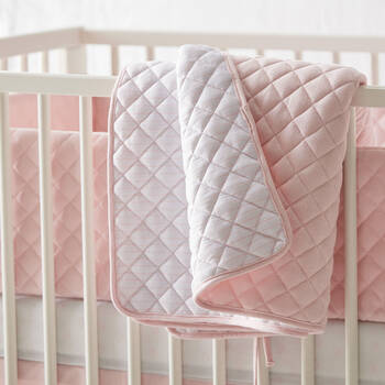 "Quilted Comforter 54"" X 29"""