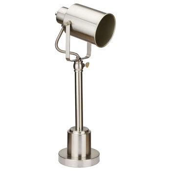 Lampe de table projecteur en métal