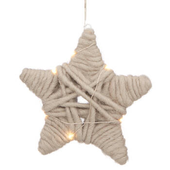Wool Star Ornament
