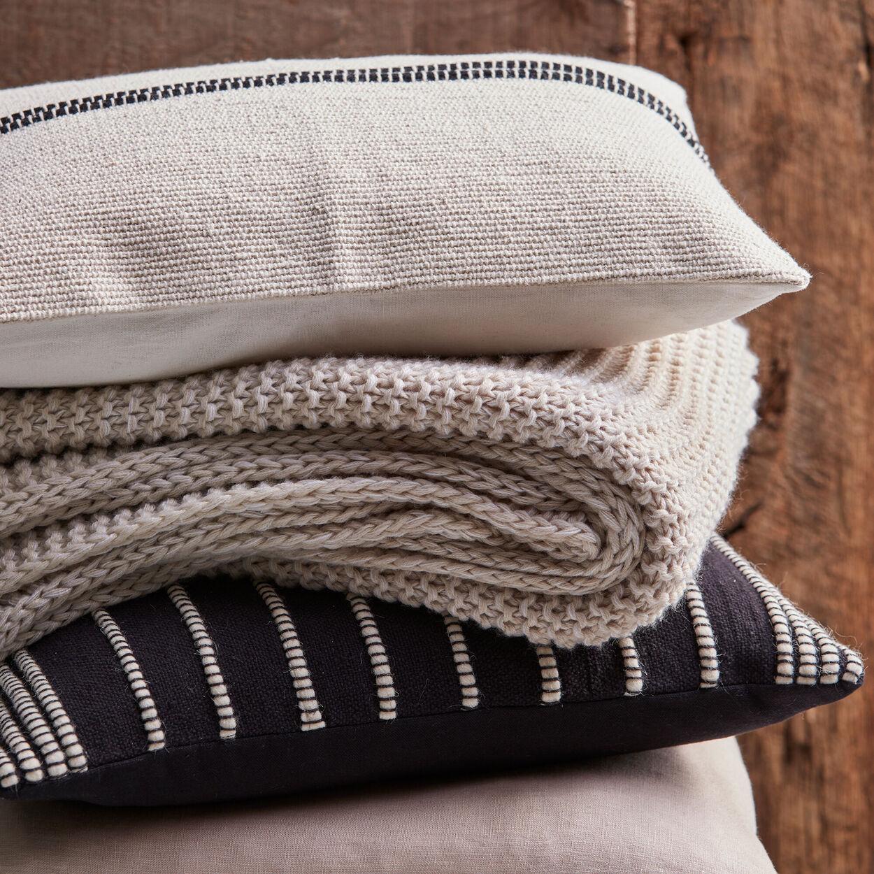 """Wabi Striped Decorative Lumbar Pillow 13"""" X 20"""""""