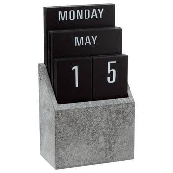 Wood Perpetual Calendar