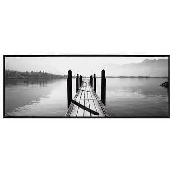 Wooden Dock Framed Art