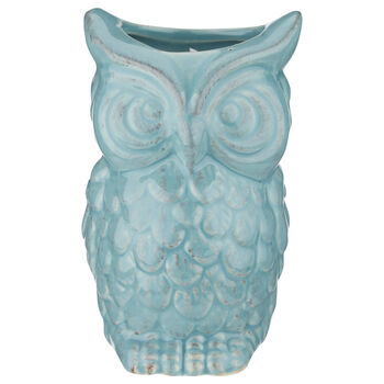 Ceramic Owl Candle
