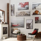 Autumn Pier Printed Canvas