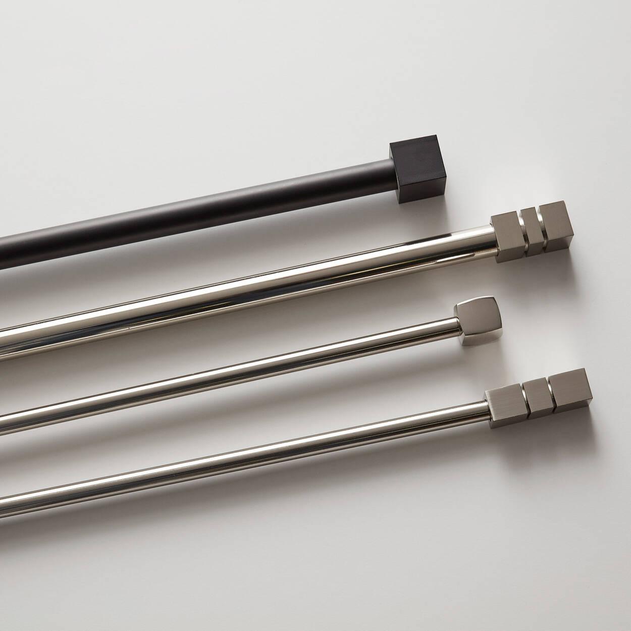 Ensemble de tringle à rideaux Gordon - Diamètre 25 mm