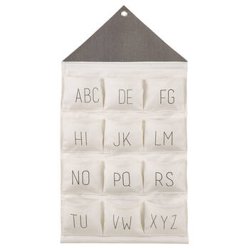 Alphabet Hanging Storage