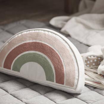 "Rainbow Decorative Pillow 13"" x 6"""