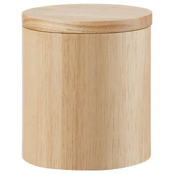 Pot décoratif en bois naturel