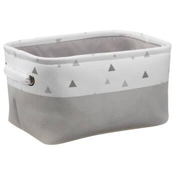 Geometric Patterned Storage Basket