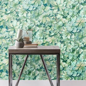 Succulent Wallpaper - Double roll