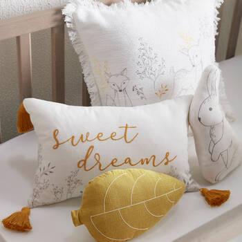 "Leaf Decorative Pillow 7"" x 11"""