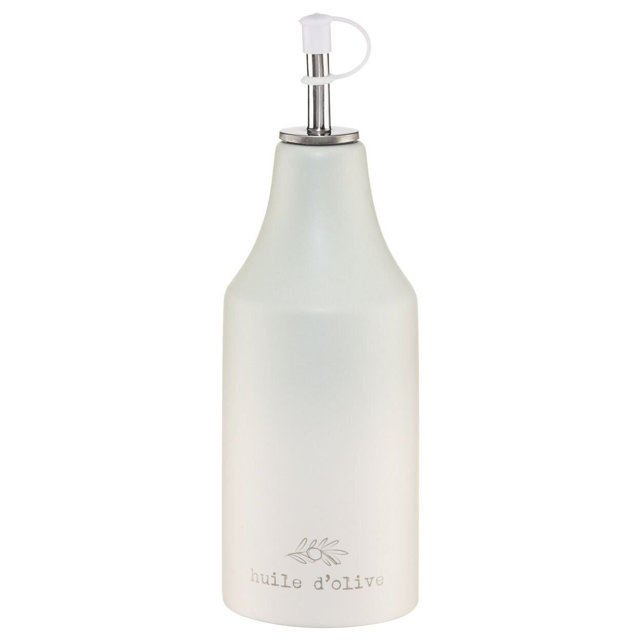Ceramic Oil Bottle with Pouring Spout