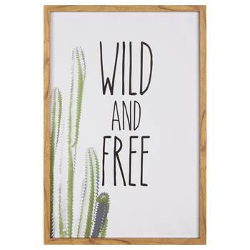 Cactus Wild Framed Art