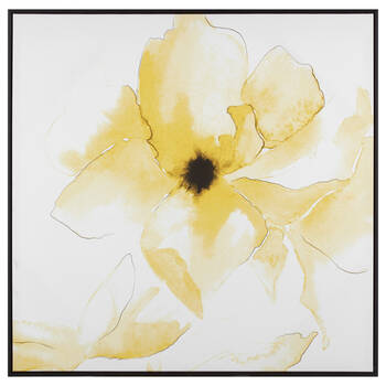 Yellow Flower Framed Art