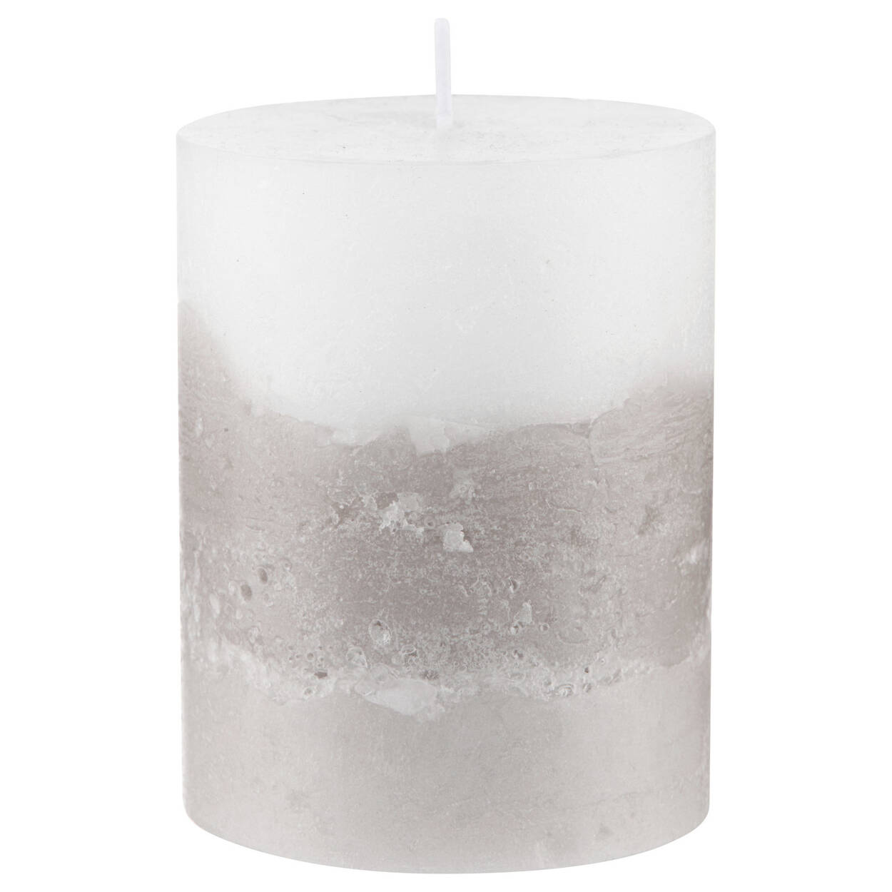Three Tone Pillar Candle