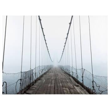 Suspended Bridge Printed Canvas