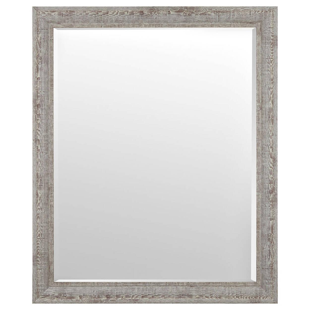 Unique Whitewashed Frame Mirror | Bouclair.com KT33