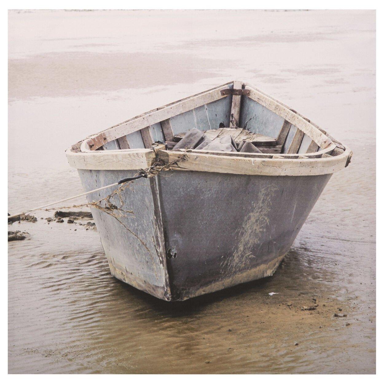 Canvas - Rowboat On Lake