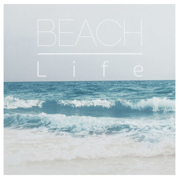 Beach Life Printed Canvas