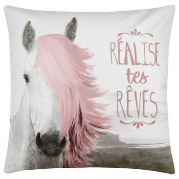 "True Dreams Decorative Pillow 19"" X 19"""