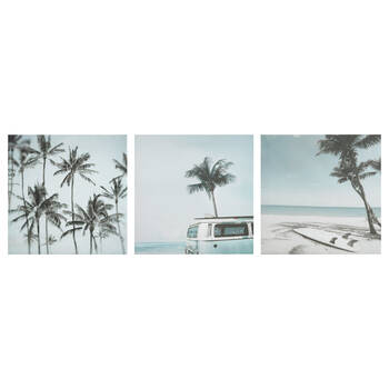 Set of 3 Beach Canvases