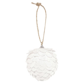 Foam Pine Cone Ornament