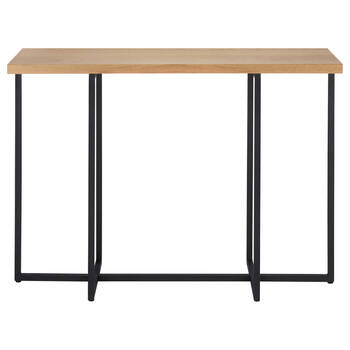 Wood and Metal Console
