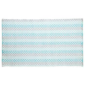 Geometric Cotton Rug