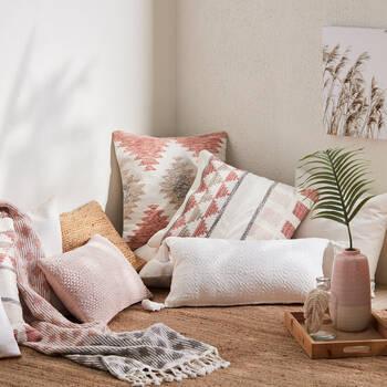 """Tally Decorative Lumbar Pillow 12""""x 24"""""""
