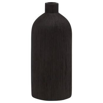 Textured Ceramic Bottle Vase