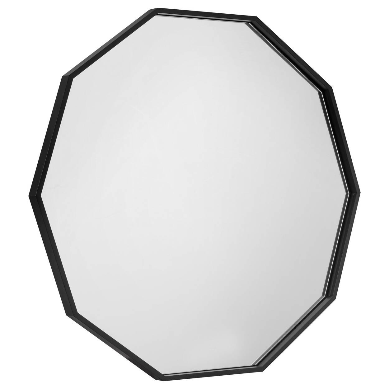 Miroir polygone avec cadre