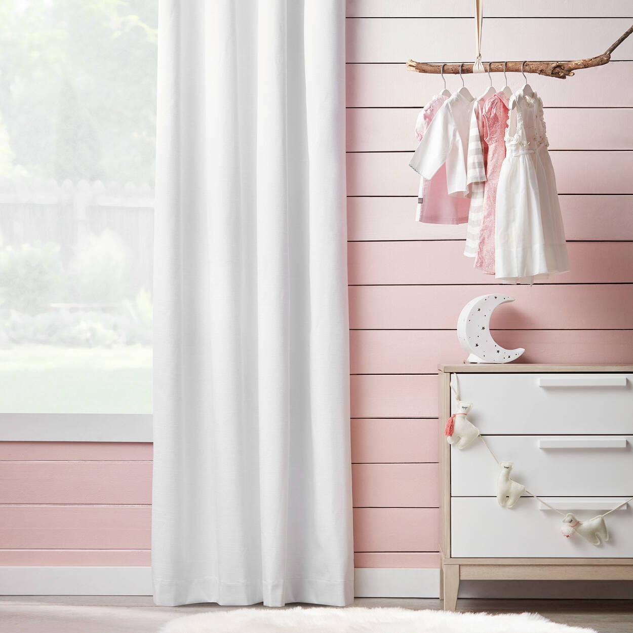 rideau coupe lumi re effet lin. Black Bedroom Furniture Sets. Home Design Ideas