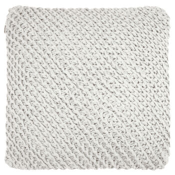 "Mave Knitted Decorative Pillow 18"" X 18"""