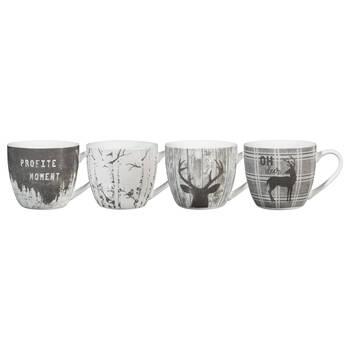 Set of 4 Profite Du Moment Mugs