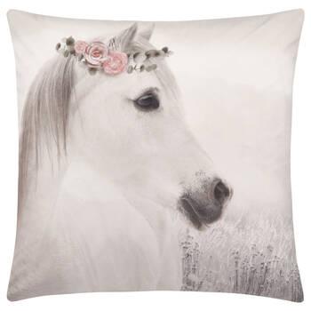 "Tali Horse Decorative Pillow 19"" X 19"""