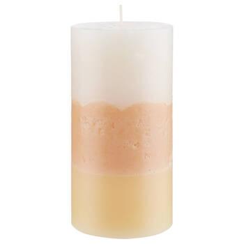 Three-Toned Pillar Candle