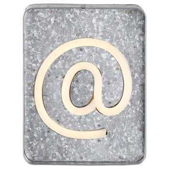 @ Metal Lightbox