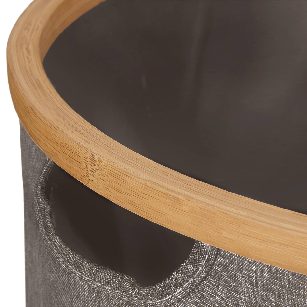 Hamper with Bamboo Ring