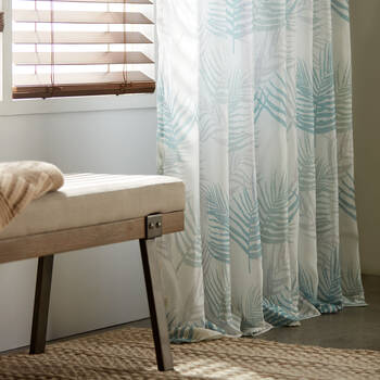 Jamina Botanical Sheer Curtain