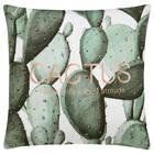 "Cactus Decorative Pillow Cover 18"" X 18"""