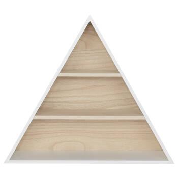 Triangular Wall Shelf