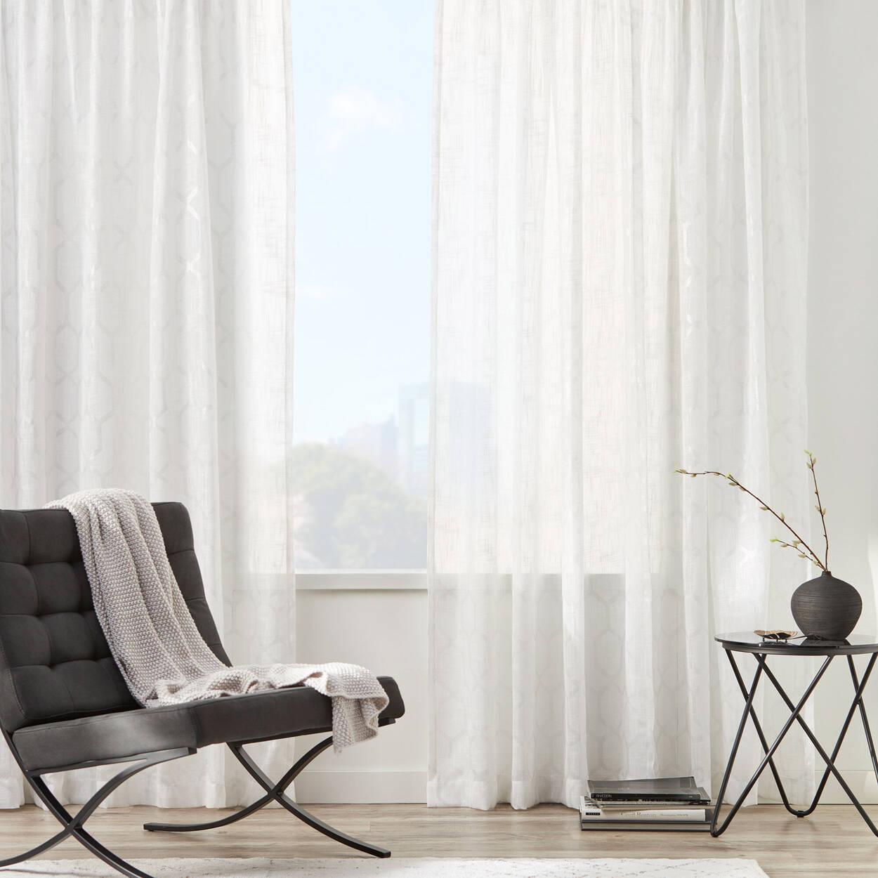 Genoa Sheer Rod Pocket Curtain