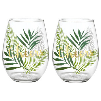 Set of 2 Cheers Glasses